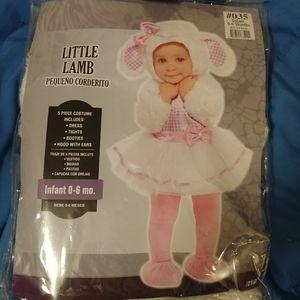 NIB Infant Little Lamb Halloween Costume 0-6 Month